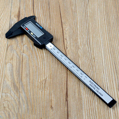 150MM 6inch Digital Micrometer Calipe LCD Electronic Carbon Fiber Vernier Gauge