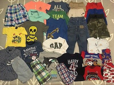 Toddler Boys 2T To 4T Clothing Lot