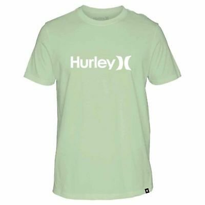 9d944f78b498d HURLEY ONE AND Only Solid Homme T-shirt à Manche Courte - Noise Aqua ...