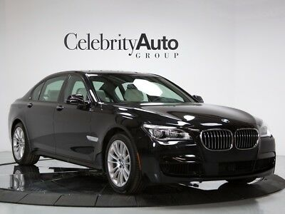 2015 BMW 7-Series 750Li M Sport, Opal White Merino Interior 2015 BMW 750LI M SPORT PKG, EXEC PKG, FULL MERINO LEATHER, WARRANTY GOOD TIL 11-