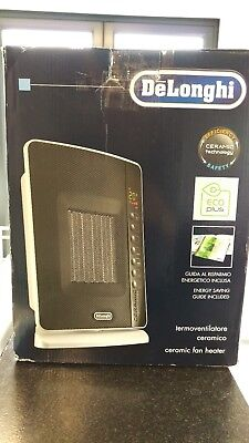 Delonghi DCH7093ER Oscillating Ceramic Heater with Timer and Remote Control