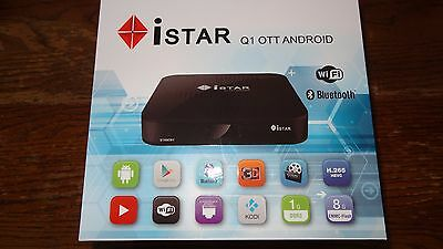 ISTAR KOREA Q1 OTT Android with one year FREE Online TV