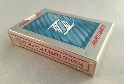 Vintage Piedmont Airlines Playing Cards Plastic Coated Bridge Size  Sealed, New