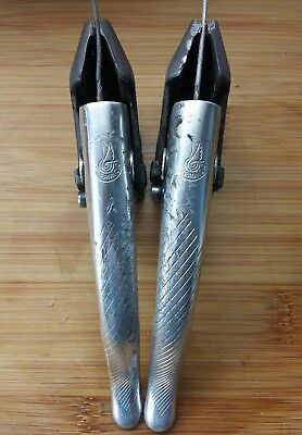 Campagnolo Bremshebel C-Record Croce D'Aune Chorus brake levers used vintage