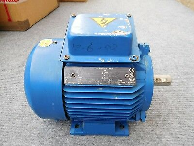 3 Phase Electric Motor  2820 RPM 1.5 Kw