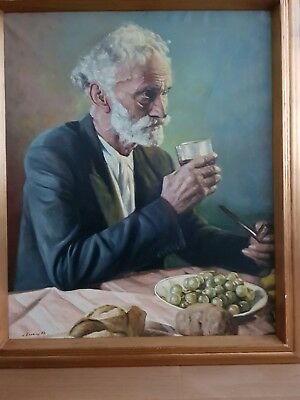 Mid 20th Century Oil Painting on Canvas - Juan Baixas Sigales