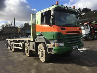 2010 Scania 8x4 Flatbed - Choice of 3 - Ideal Tipper Conversion - 07703770615