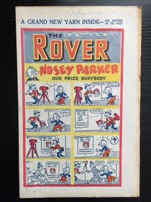 The Rover comic No. 1091 - September 2, 1944 - vintage and rare!