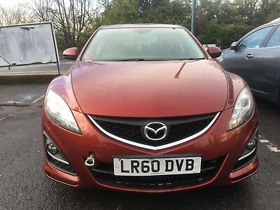 L@@k 2010*mazda 6 Ts2 D 2.2* Hatch*163 Bhp*s/history*spares Or Repairs*