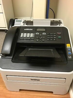 Brother FAX 2840 IntelliFax-2840 FAX2840 High-Speed Laser FAX Machine USED