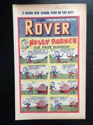 The Rover comic No. 1085 - June 10, 1944 - vintage and rare!