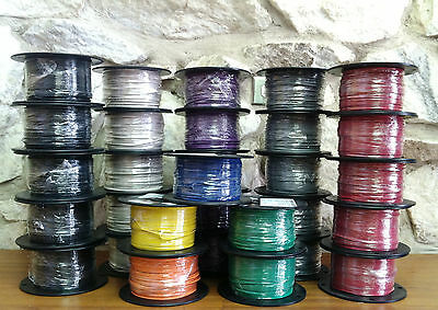 500 Ft Tfn/tewn Wire. 18 Awg Solid 600 Volt.  Made In Usa.    Comes In 7 Colors!