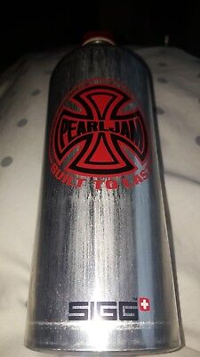 Pearl jam extremely rare sigg water bottle in mint condition. Never used