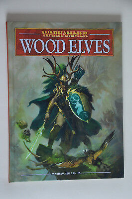 Wood Elves engl. Codex - Warhammer Fantasy Sammlungsauflösung Games Workshop