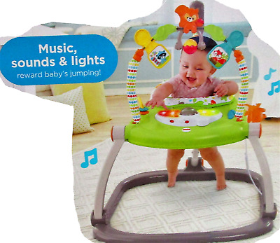 Fisher-Price Woodland CBV62--9998 Friends SpaceSaver Jumperoo 4270 []