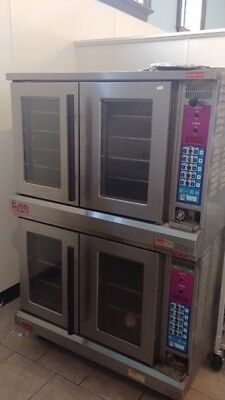 Lang Double Stack Commercial Electric Convection Oven- great condition