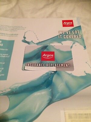 ARGOS Voucher card £530.00 value. Must accompany to store