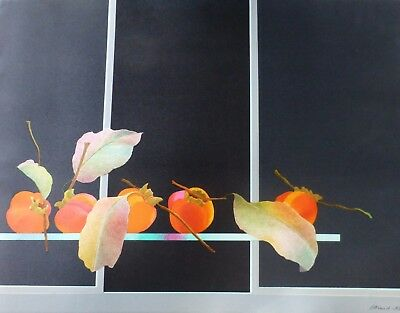 Pierre Garcia-Fons Fruit and Leaves HAND SIGNED LIM.ED.153/170 LITHOGRAPH French
