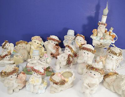 Lot of 16 Dreamsicles Just Married, Lamp, Hushaby Baby Star Power 1st Release