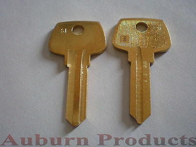 S1 Sargent Key Blank / 12 Key Blanks / Free Shipping / Check For Discounts