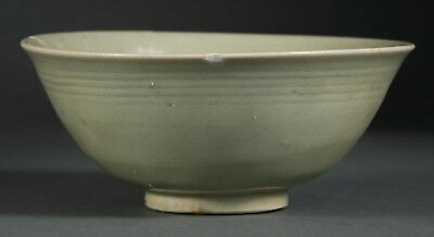 A rare Chinese Longquan celadon bowl with document