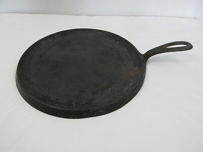 Vintage Griswold Cast Iron #9 Large Logo Handle Griddle 609 A
