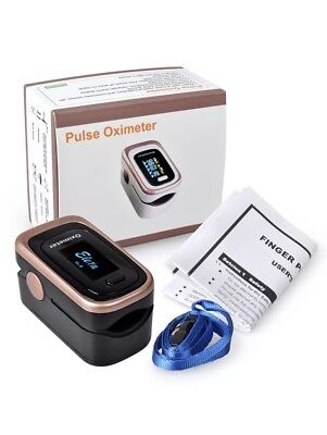 US stock SPO2 PR PI ODI 4-Pra Finger Pulse Oximeter Blood Oxygen Monitor CE FDA