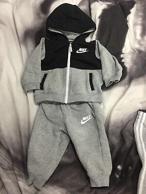 Baby Boys Nike Tracksuit 12-18 Months