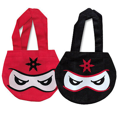 12 Ninja Tote Bags|Ninja Party|Party Tote Bags|Party Bags