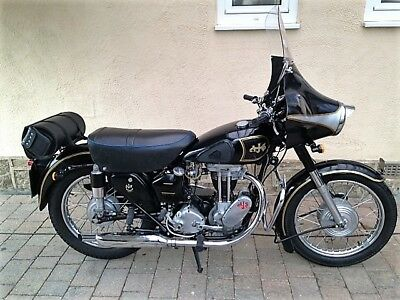 1952 AJS 350cc single 16ms Classic British Motorcycle Complete restoration