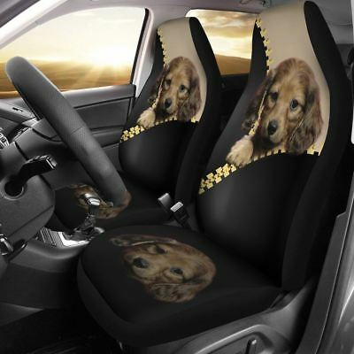 Puppy Dog Car Seat Cover Cute Protector Free Shipping