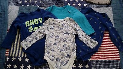 Four boys long sleeved vests from marks and spencer 18-24 months