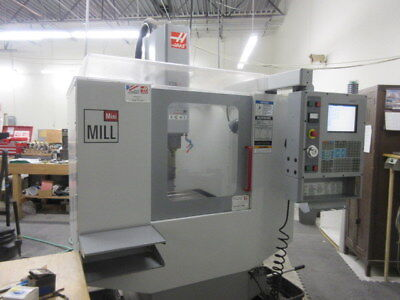 Haas CNC Mini Mill 6000 RPM Spindle, Rigid Tapping