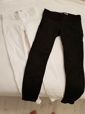 TOPSHOP maternity skinny jeans size 8. Joni/Leigh- good conditiin
