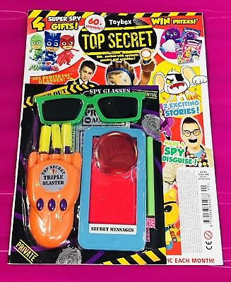Toybox Magazine #340 TOP SECRET - AMAZING FREE GIFTS! (NEW)