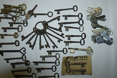 Large Lot of Old Keys, some with names on them