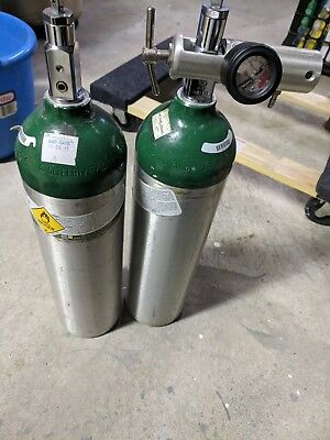 Oxygen cylinders and regulator o2