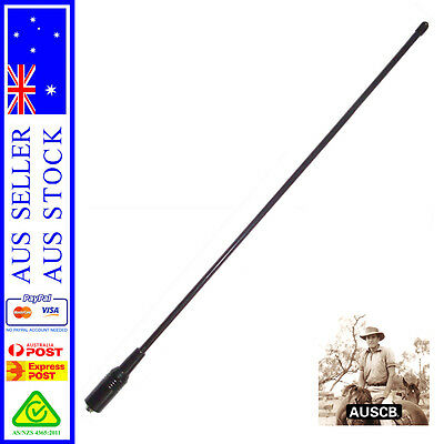 Long Range UHF CB Antenna - suits AUSCB 5W 80CH UHF CB Handheld