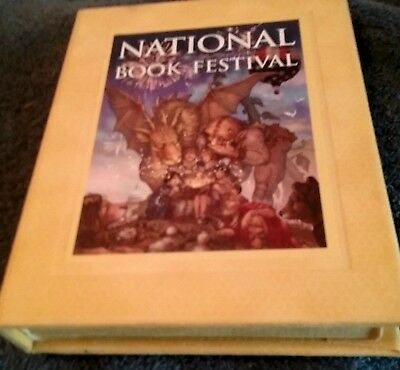"Gift By Laura Bush!, ""national Book Festival""  Library Of Congress, Smithsonian"