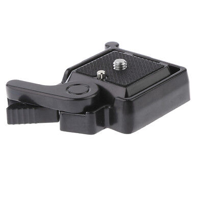 Quick Release QR Plate Clamp Holder for Camera Tripod Monopod Ball Head