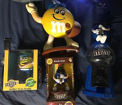 m & m's collectables, dispensers and watch