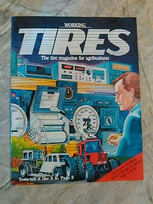 1986 fall Working Tires magazine with Goodyear ads