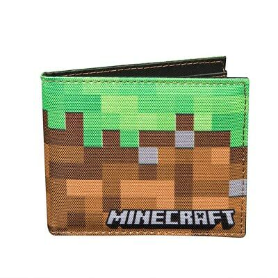 Minecraft Dirt Block Bi Fold Boy/Men Wallet