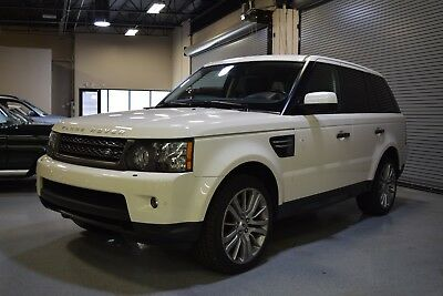 2010 Land Rover Range Rover Sport Sport 2010 Land Rover Range Rover Sport HSE LUX White IMPECCABLE Inside and Out