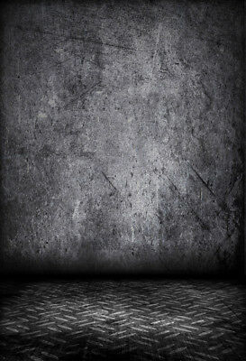 Vinyl 5x7Ft Photo Backdrop Black Shadow Wall Photography Background Studio Props