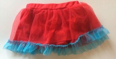Baby Girl Supergirl Skirt - 24 Months - Excellent - Built In Panties