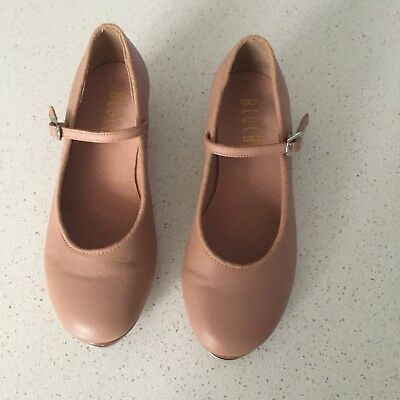 Bloch Tap Shoes, Beige, Size 5, very good condition