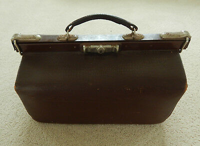 Antique Brown Leather GLADSTONE Bag