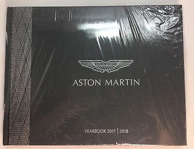 Aston Martin Yearbook 2017/2018 New In Plastic