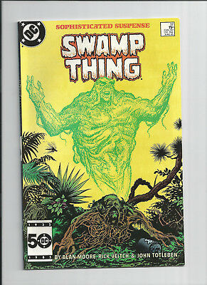 Swamp Thing #37 1st Appearance of Constantine AKA Hellblazer! VF-NM Condition!!